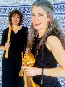 Femke Bergsma and Rebecca Bain