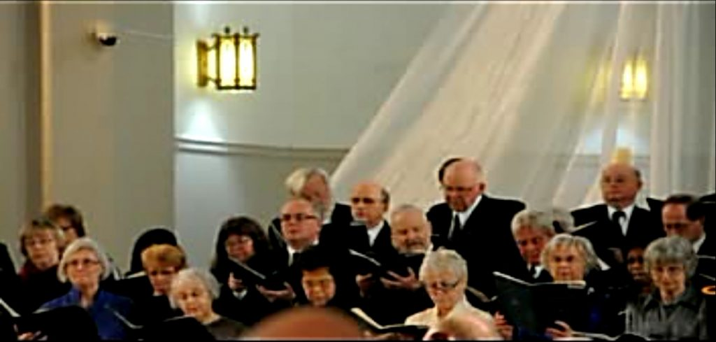 Concert annuel 2013 video de Sanctus