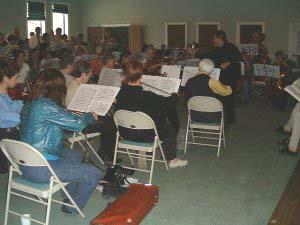 Howard Dyck conducting Verdi Requiem, April 2001