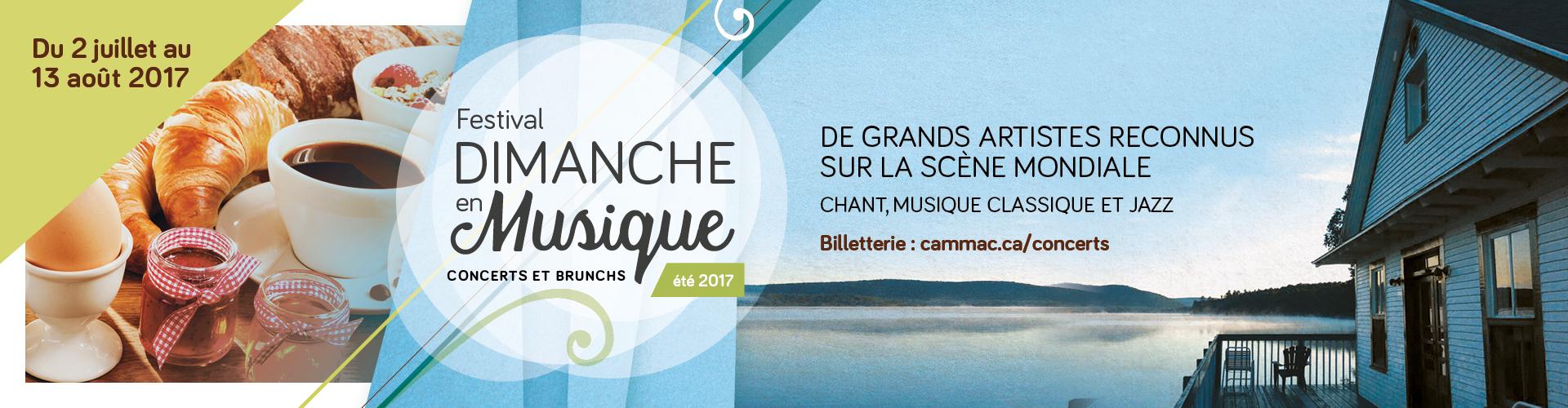 Concerts brunchs CAMMAC laurentides