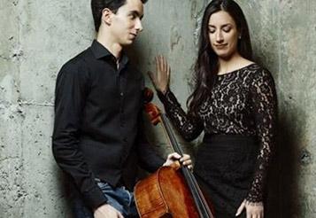 Stéphane Tétreault (cello) avec la pianiste Marie-Eve Scarfone