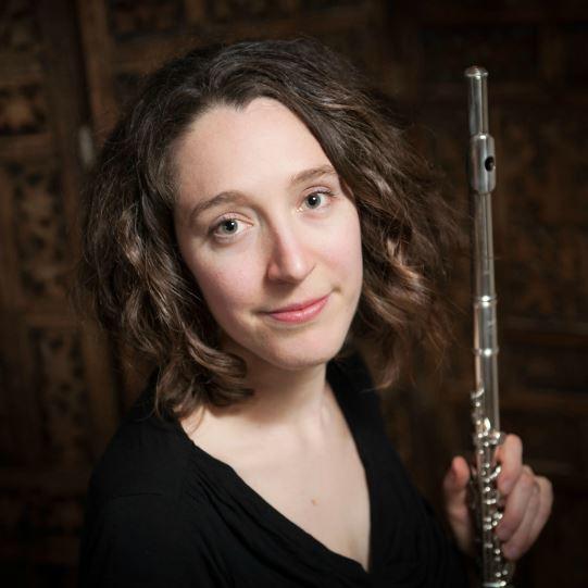 Flutist Sara Traficante
